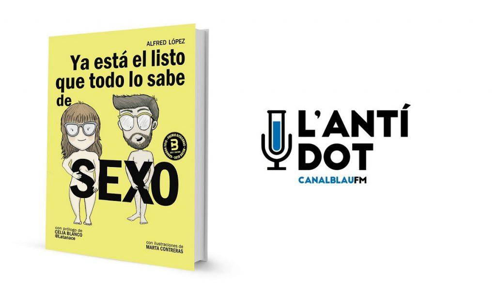 Entrevista a Alfred López en el programa L'Antidot de Canal Blau FM