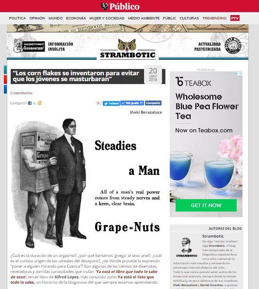 """Entrevista a Alfred López, hablando de """"Ya está el listo que todo lo sabe de SEXO"""" en Strambotic"""