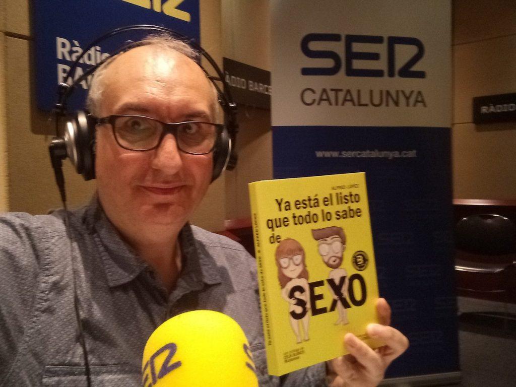 Toni Garrido entrevista a Alfred López en el programa Hoy por Hoy de la Cadena SER