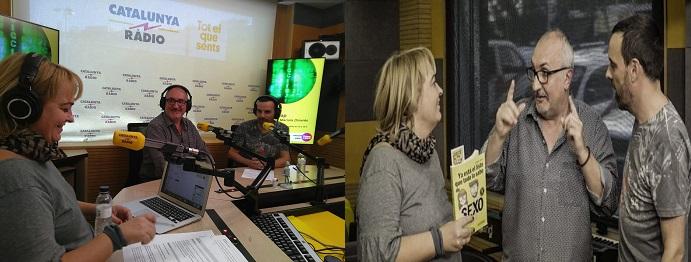 Alfred López entrevistado en el programa 'Popap' de Catalunya Ràdio